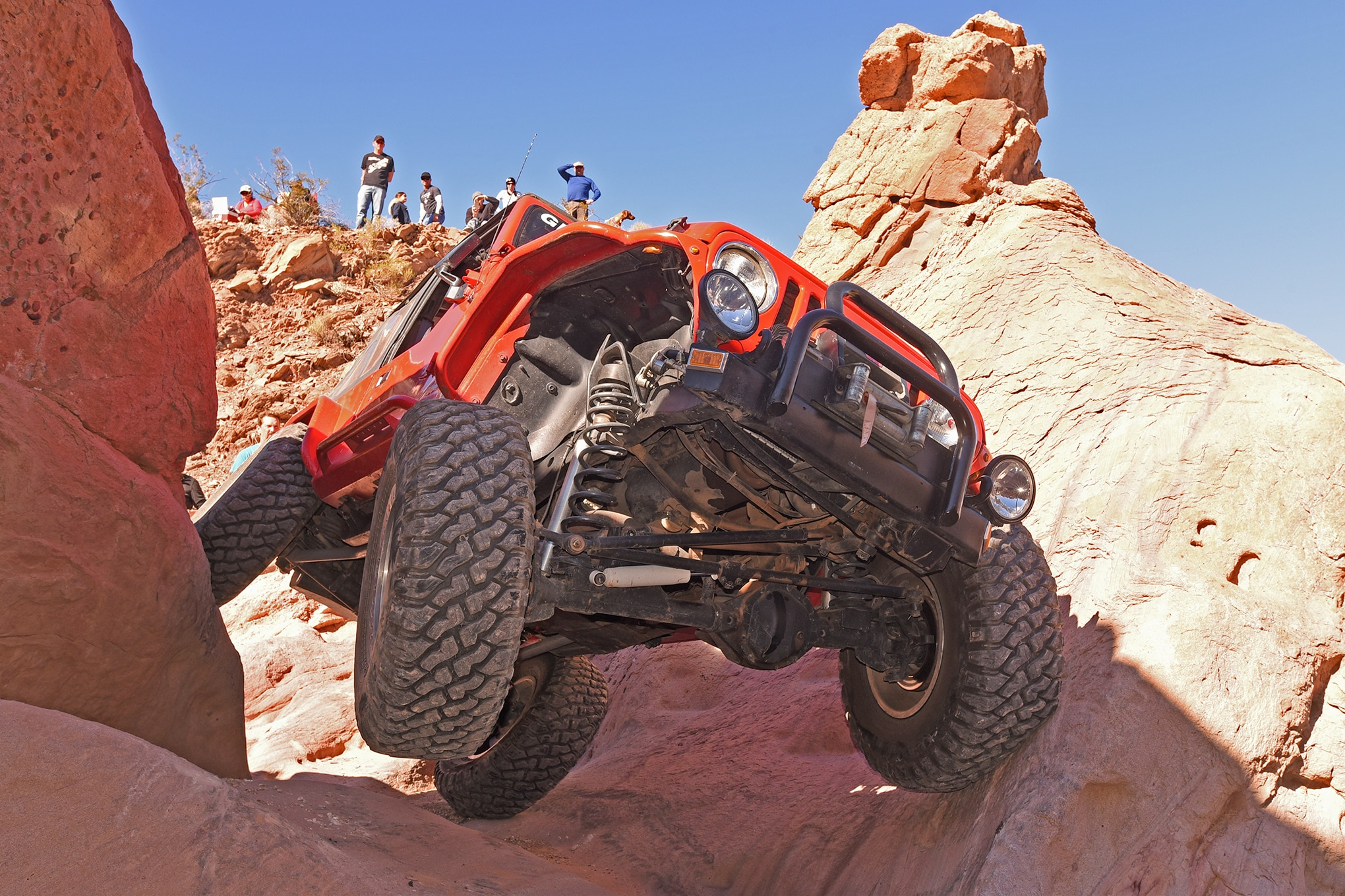 Red Rock Rider - Gary Shaffer's Custom 1997 TJ