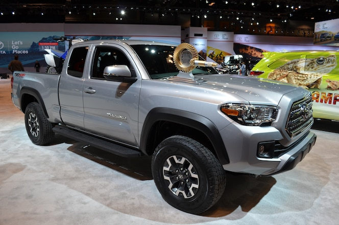 Handing Off Our 4x4 of the Year Award for the 2016 Toyota Tacoma TRD Off-Road