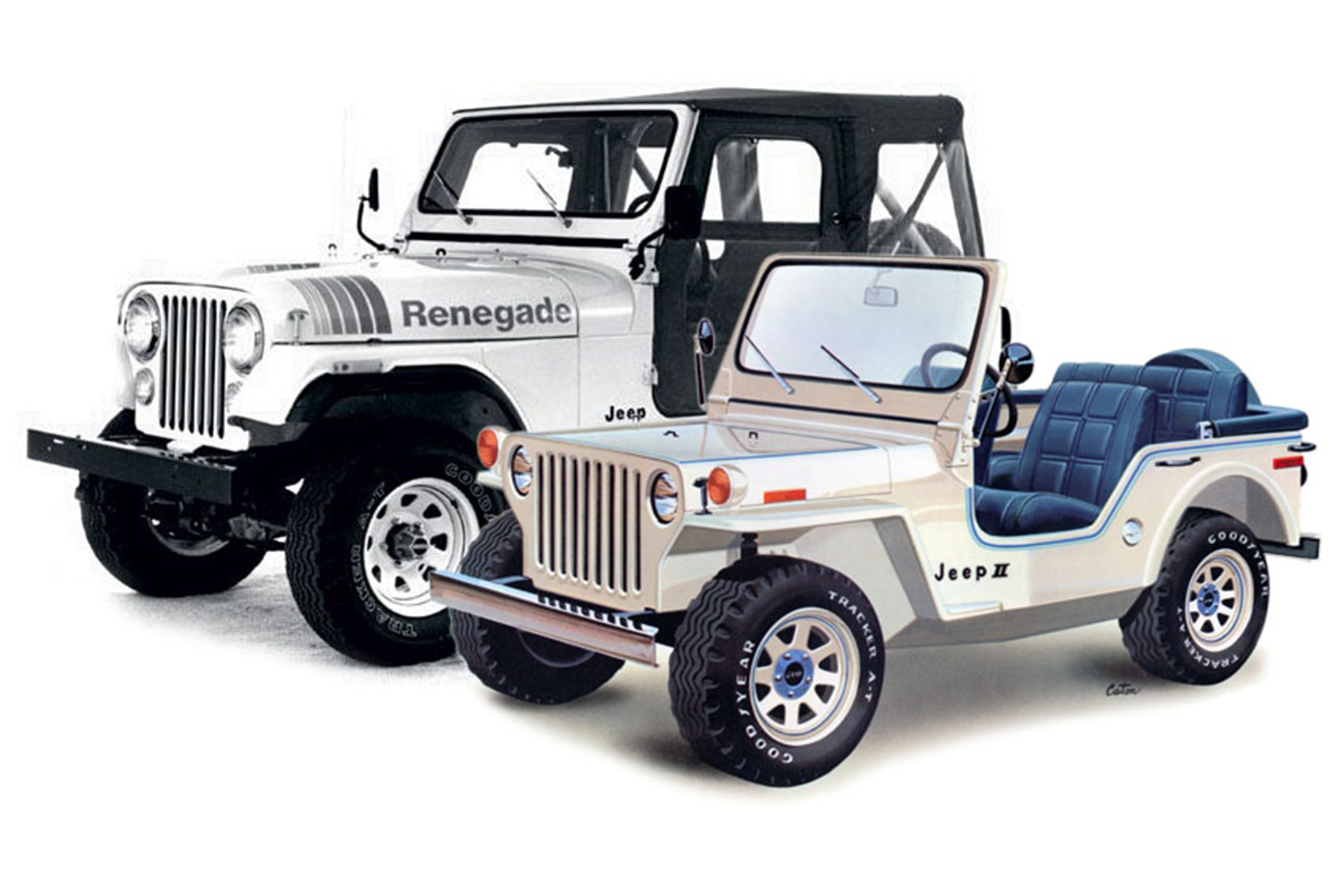 002 american motors corporation jeep II concept