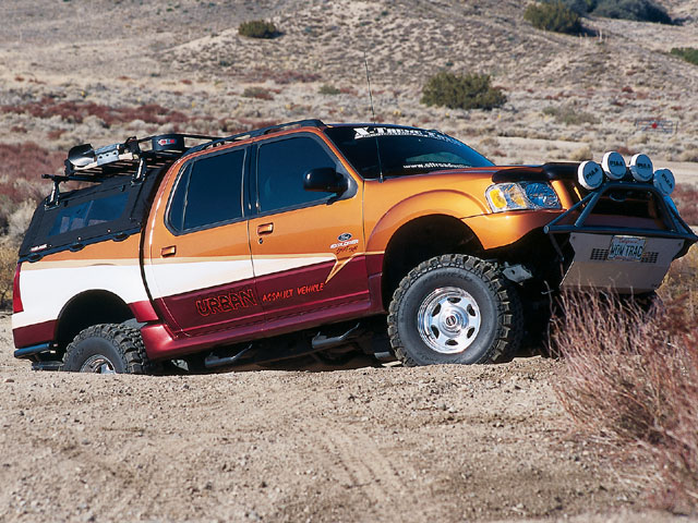 2001 Ford Explorer Sport Trac Ford 4x4 Off Road Off Road