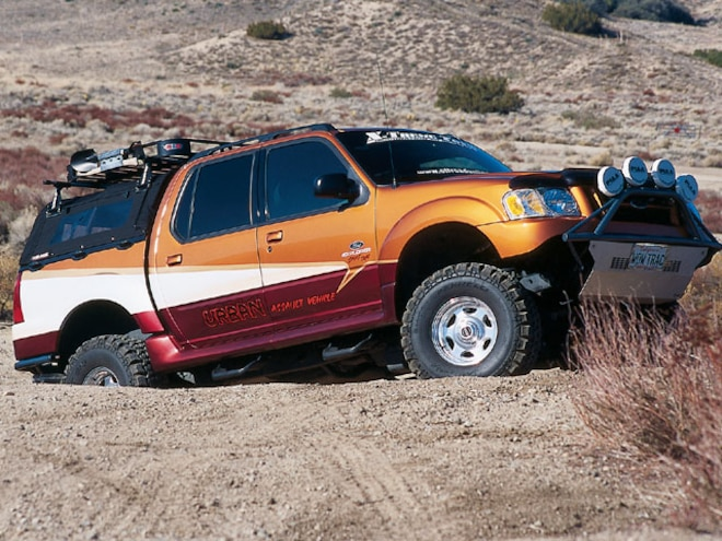 2001 Ford Explorer Sport Trac - Form Follows Function