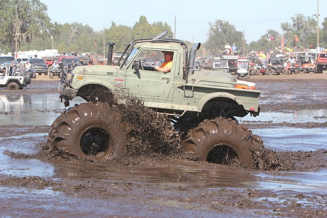 Three Mud Trucks Built For Southern Bogging