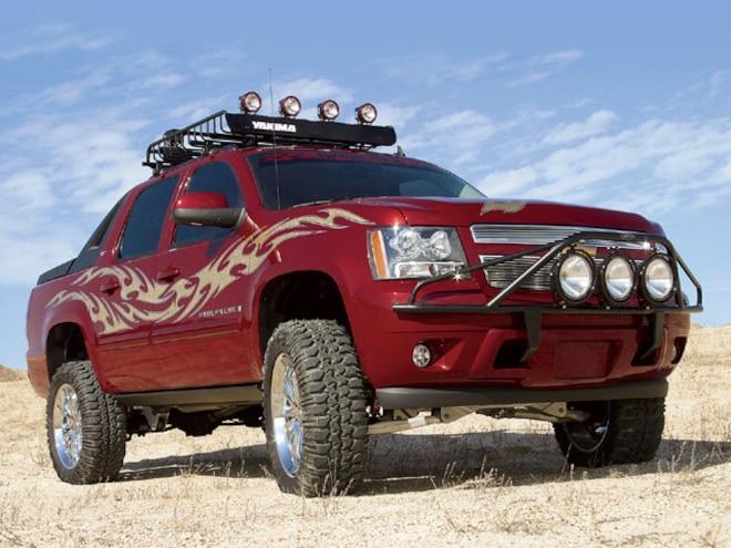 Skyjacker 2007 Chevy Avalanche LTZ 4x4 - A.M.P.E.D. U.P.