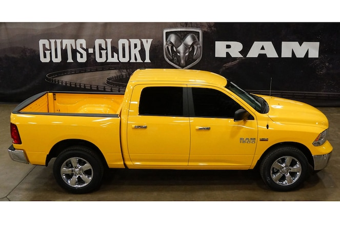 Ram 1500 Yellow Rose of Texas Edition Pickup Arrives Just In Time For Spring