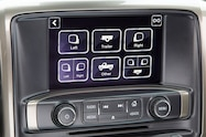 2016 Chevrolet Silverado 3500HD Camera Menu
