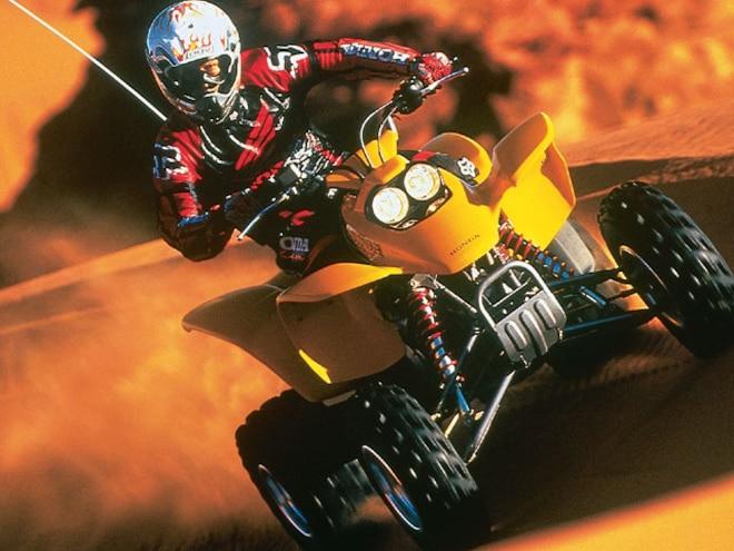 2001 Honda Sportra 400EX - 17 ATV's For 2001!