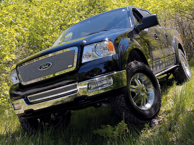 0801or 18 z+2005 ford f150 supercrew 4x4+exterior view main