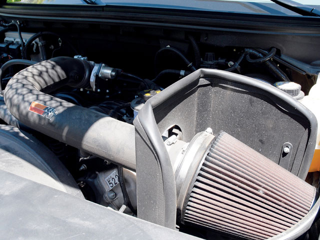 0801or 13 z+2005 ford f150 supercrew 4x4+k n air intake system