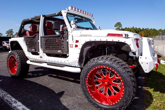 Yoenis Cespedes' Outrageous Jeep Wrangler Makes Spring Training Debut