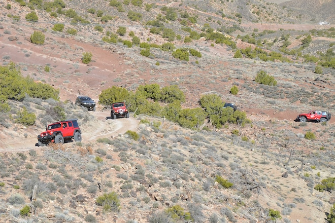 Strike Ravine Trail report - EJS 2016 in Moab Day 1 #EJS2016