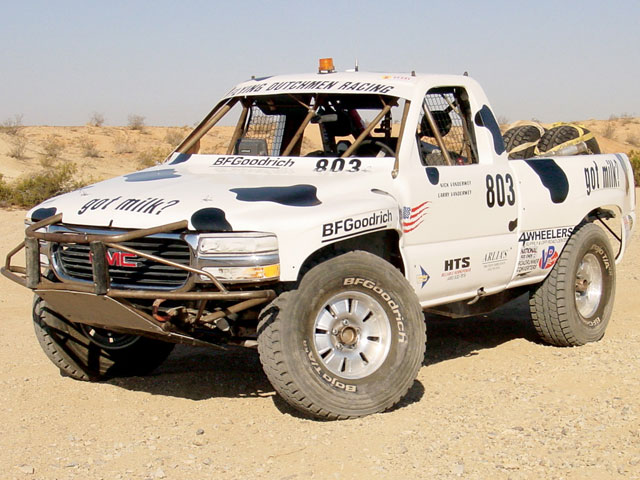 2002 GMC Sierra - Airborne Assault - Off-Road Race Truck