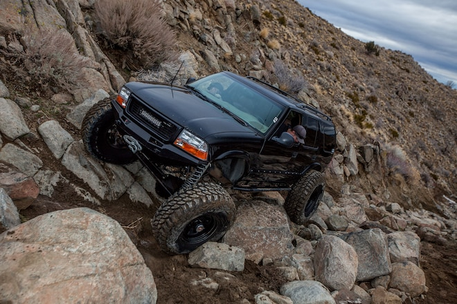 One Ton GMC S15 Jimmy - A crawler for the whole family