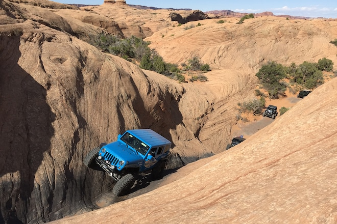 Moab EJS 2016 Tuesday: Dominating Hells Revenge with Team Dana Spicer Axle #EJS2016