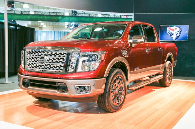 UPDATED: DETAIL PHOTOS -- 2017 Nissan Titan Officially Debuts in New York