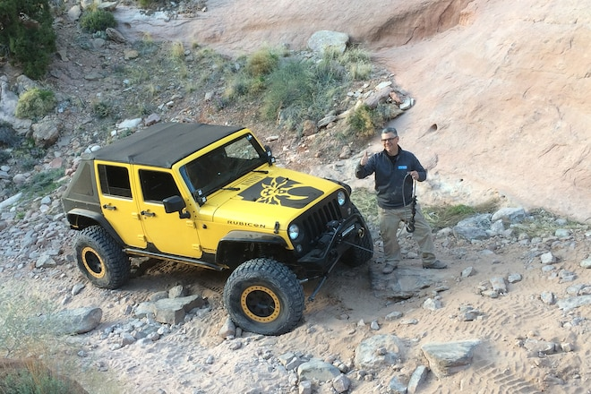 How many field fixes does it take to get a JK through Pritchett Canyon at EJS 2016 Day 5 #EJS2016