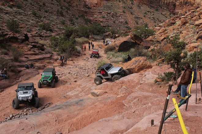 Prowling Pritchett Canyon for awesome Moab EJS 2016 Action, Day 5 #EJS2016