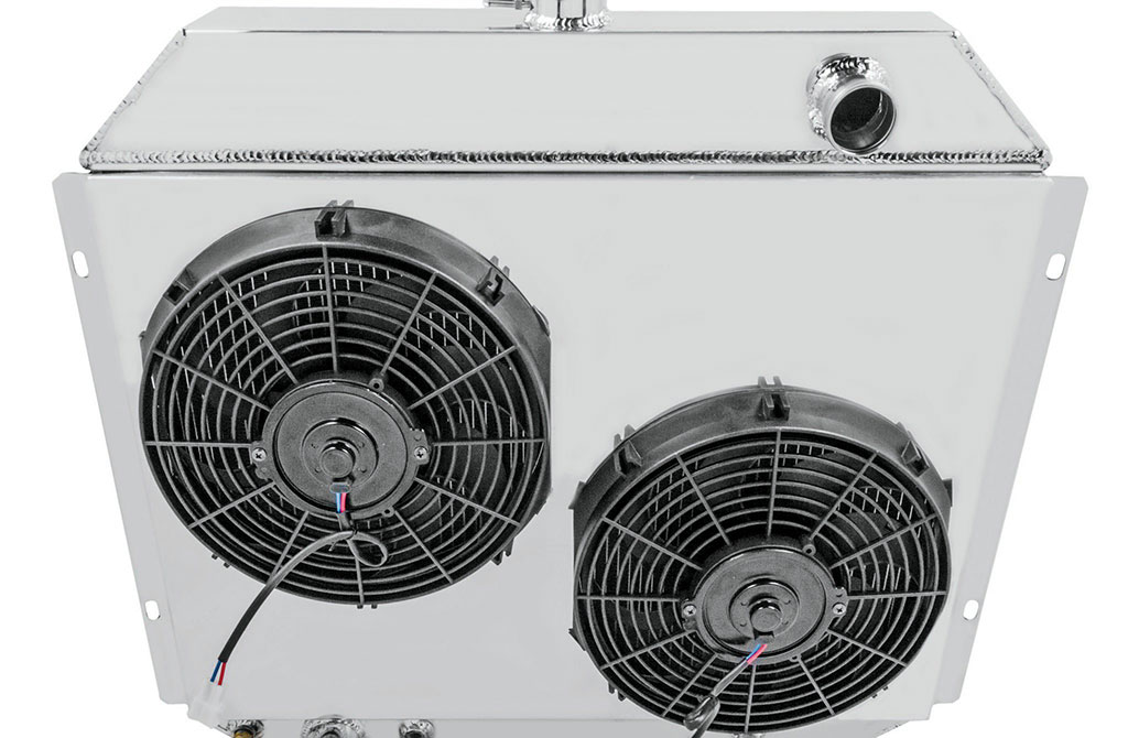 Champion also offers a fan/shroud configuration for enhanced looks and extra cooling power. All Champion radiators are backed by a limited lifetime warranty.