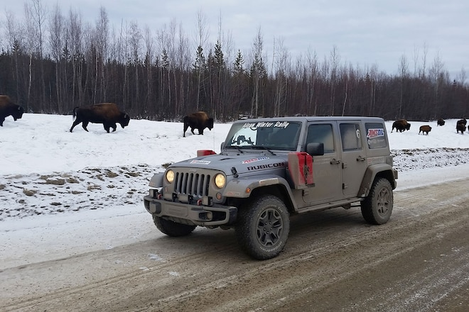 5,000 Frozen Miles In A Jeep: Day 6