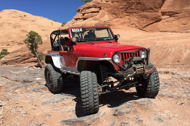 When Rookie Women Rock Crawlers hit Moab's Fins and Things #EJS2016