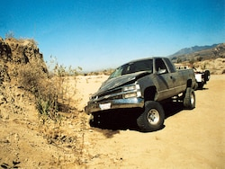 Chevy Off Road Truck Foulup - Whoops!