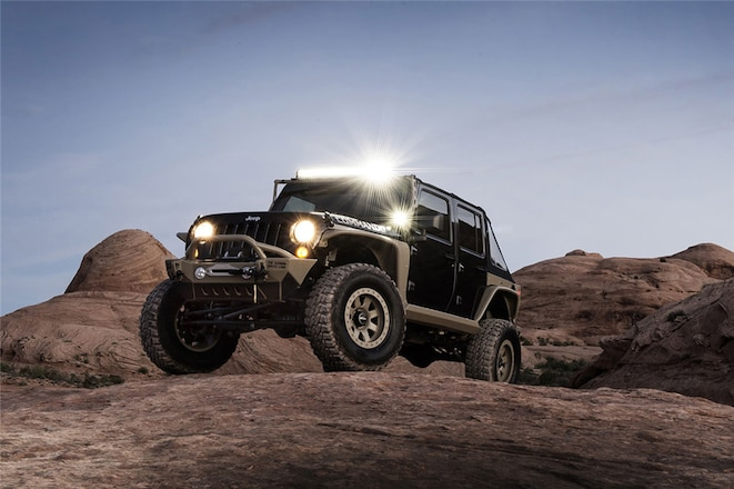 One-of-a-Kind Commando Tactical Edition Jeep Will Be Auctioned Off at Barrett-Jackson