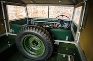 1948 land rover series i reborn interior