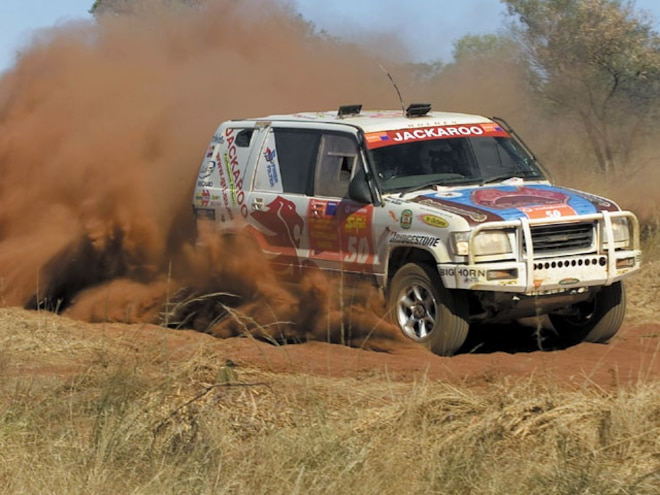 Australian Desert Off Road Racing - Doin' It Down Under