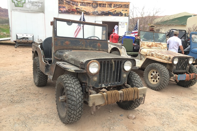 Cool vehicles from the Epic Willys Adventure in Moab Easter Jeep Safari 2016 - Day 3 #EJS2016
