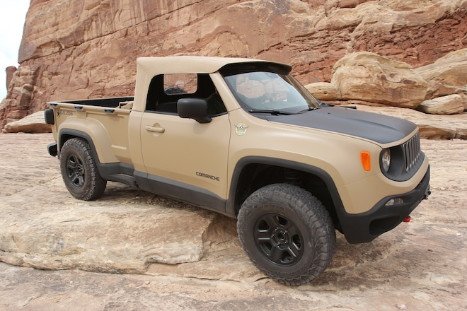 Crazy Jeep Comanche Unveiled At Moab EJS 2016 Day 3: Exclusive photos, video, opinions #EJS2016