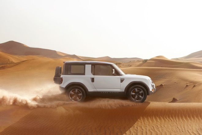 Land Rover Will Build SVX Discovery For Extreme Off-Road Capability