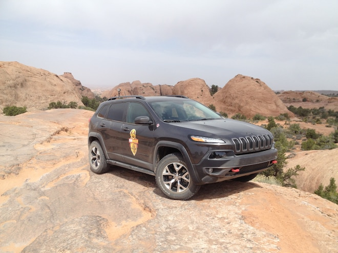 2015 Jeep Cherokee Trailhawk Four Wheeler of the Year: Moab-Tested