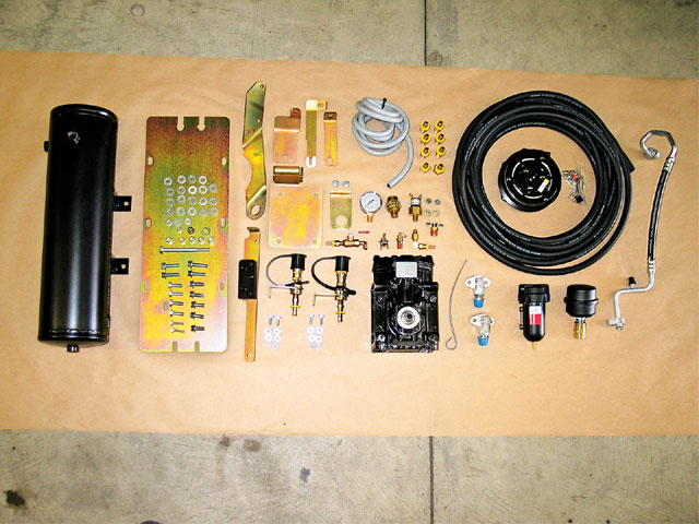 0809 4wd 02 z+jeep wrangler air compressor+kit components