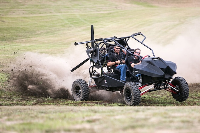 The SkyRunner ATV Goes From the Dunes to the Air in Seconds - Video