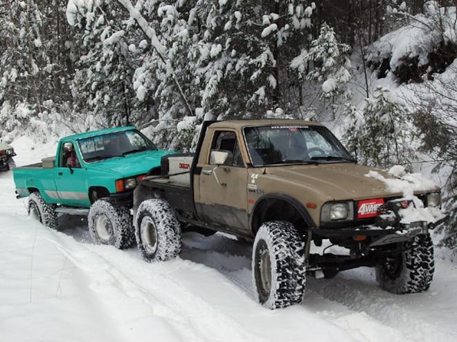 Kalispell, Montana Off Road Snow Adventure - Montana Snow Mobbing