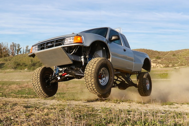 A 1997 Ford Ranger For Riding Fences