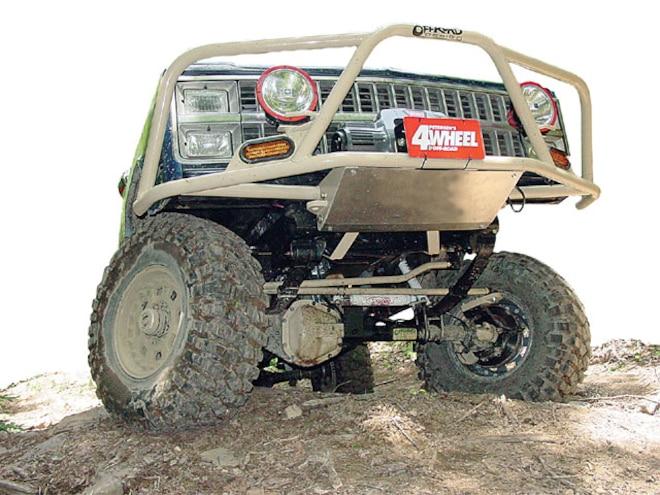 Chevrolet Blazer Off Road Design Bumper - Serious Protection
