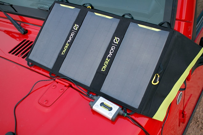 Goal Zero Solar Battery Charging With the Sun