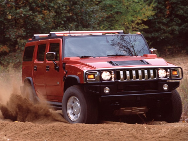 Special Report Hummer H2 taken Off Road - Road Test