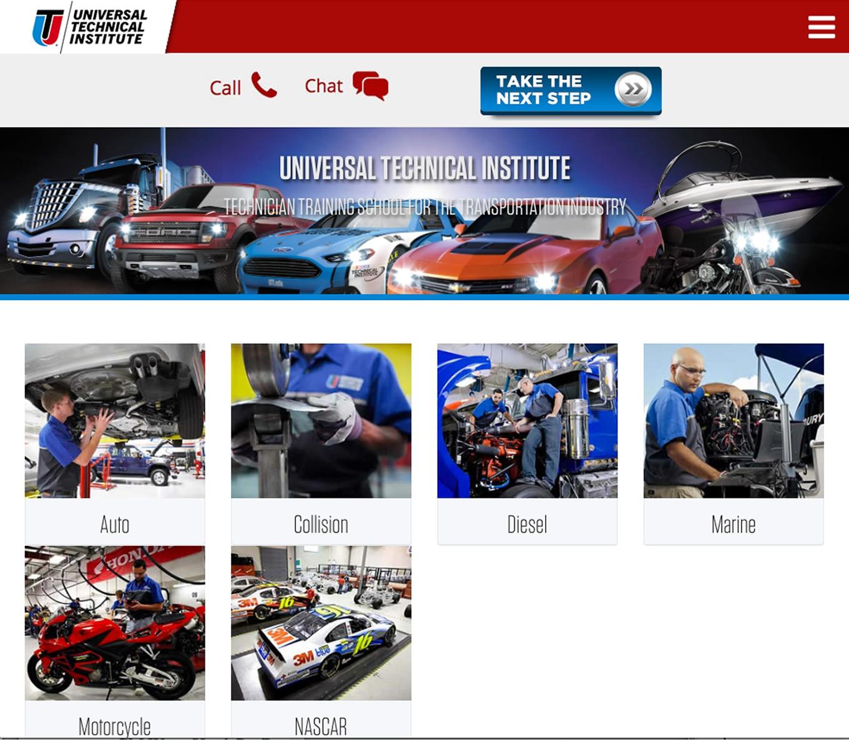 003 auto news jp jeep uti universal technical institute 50th anniversary trade auto school mechanic diesel training