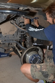 002 Rancho Control arm upgrade