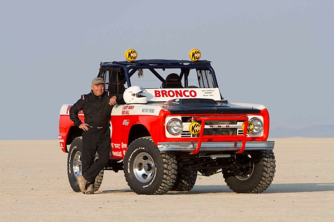 Off-Road Racing Legend Rod Hall Will Race 2016 NORRA 1000 in His Recently Restored Ford Bronco