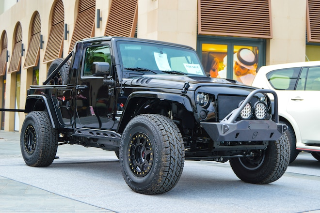 RAMY 4x4 2016 Jeep Wrangler Pickup Is All About That Single-Cab Life