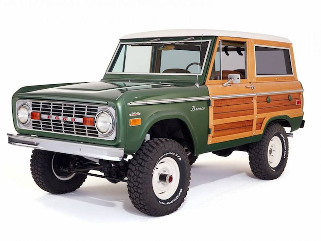 This 1974 Ford Bronco Woody is a 4x4 the Beach Boys Would Drive