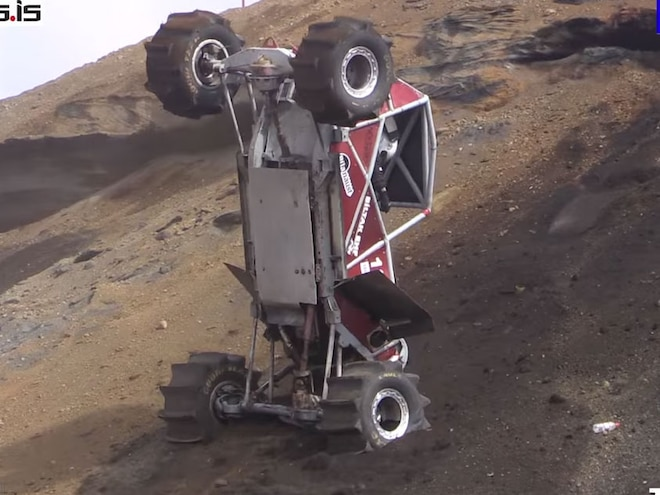 Iceland's Formula Offroad Proves You Can Do Backflips and Drive on Water - Video