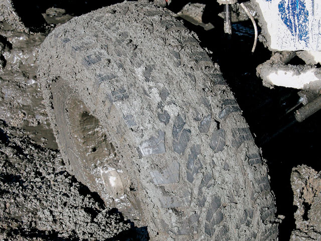 0809or 07 z+pro comp xtreme mud terrain tire and wheel special+mud tire