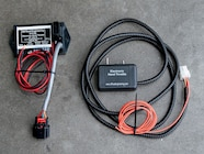 With the battery disconnected, the stock wiring harness was located Unplugging A Wiring Harness on battery harness, engine harness, nakamichi harness, electrical harness, suspension harness, maxi-seal harness, radio harness, safety harness, cable harness, alpine stereo harness, pony harness, dog harness, fall protection harness, pet harness, amp bypass harness, oxygen sensor extension harness, obd0 to obd1 conversion harness,
