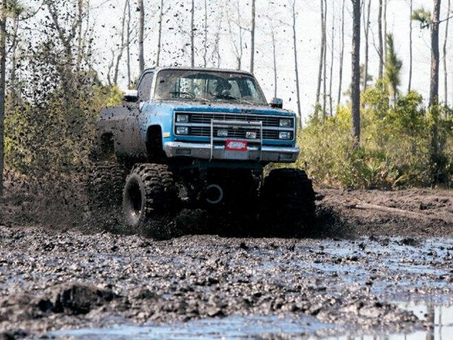 Building 4x4 Mud Bogging Trucks - Mind Over Mudder