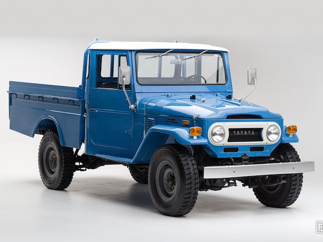 Find of the Week: Mint-Condition 1974 Toyota Land Cruiser FJ45 Pickup - Video