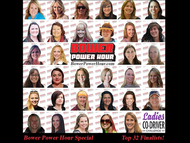 32 Semi-Finalists From Ladies Co-Driver Challenge Interviewed in Latest Bower Power Hour - Video