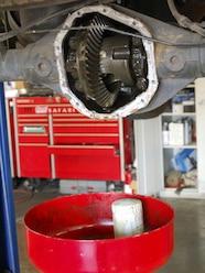 0810 4wdweb 03 z+2005 nissan xterra air locker+drain differential oil